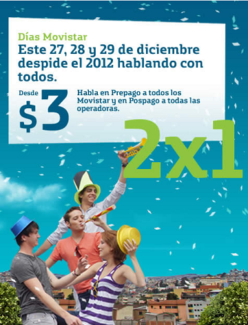 Movistar Ecuador Promotion